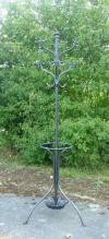 French Iron Coat Stand